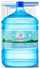 Природная минеральная вода обогащенная кислородом 19 л